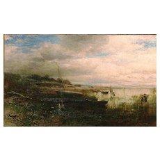 George Herbert McCord Oil Painting Clam Diggers