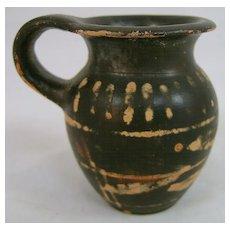Greek Xenonware Trefoil Jug with Bands, circa 4th-3rd c. BC
