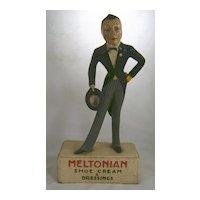 Meltonian Shoe Cream Advertising Store Display c. 1930