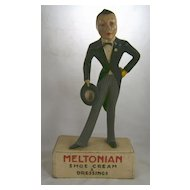 Meltonian Shoe Cream Advertising Store Display c. 1930