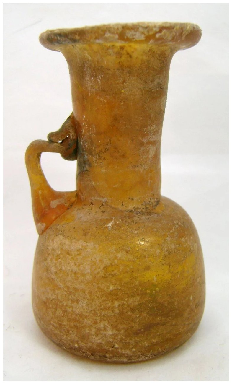 Ancient roman blown amber glass jug or pitcher new hampshire click to expand floridaeventfo Gallery
