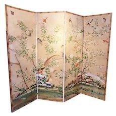 18th Century Chinese Wallpaper Screen