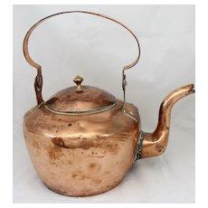 19th c. Copper Kettle