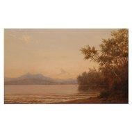 Erik Koeppel Landscape Oil Painting Mt. Chocorua from Silver Lake NH