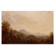 Lauren Sansaricq Oil Painting View from the Kancamagus NH