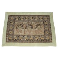 Early 20th c Burmese Wall Tapestry