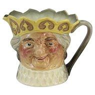 Royal Doulton Old King Cole Yellow Crown Character Jug Music Box