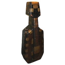 19th c Continental Wooden Brass Bound Cello Case