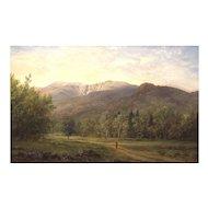 Erik Koeppel Landscape Oil Painting Mt. Washington & Huntington Ravine NH