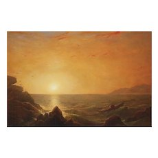 Erik Koeppel Seascape Oil Painting Sunrise on the Coast