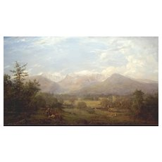 Erik Koeppel White Mountain Landscape Oil Painting Mt. Washington NH