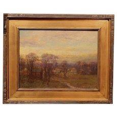 Charles P. Appel Oil Painting Tonalist Landscape