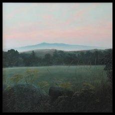 Erick Ingraham Oil Painting NH Landscape Monadnock Serene Morning