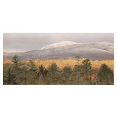 Erick Ingraham Oil Painting NH Landscape Monadnock Early Autumn