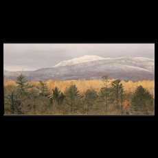 Erick Ingraham Oil Painting NH Landscape Monadnock Early Autumn