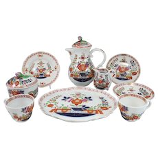 Early Meissen 11 pc Porcelain Tea Service