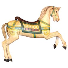 Polychrome Decorated Carousel Prancer Horse - Frederick Heyn