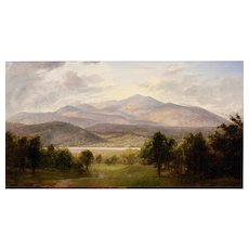 Erik Koeppel Oil Painting Landscape - Mount Monadnock NH