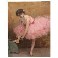Louis Kronberg Oil Painting - Ballet Dancer, 1903