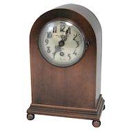 Bronze Chelsea Mantel or Shelf Clock for Samuel Kirk & Son Baltimore MD