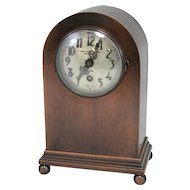 Bronze Chelsea Mantel or Shelf Clock for Samuel Kirk & Son Baltimore MD