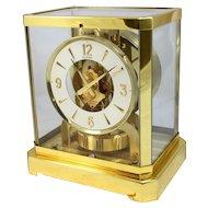 LeCoultre Atmos Perpetual Motion Mantel Clock