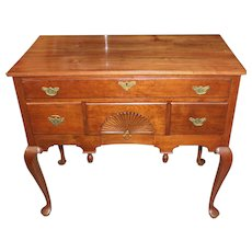 18th c Highboy Base Converted into a Server or Lowboy