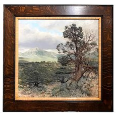 Erick Ingraham Oil Painting Landscape - Colorado High Desert