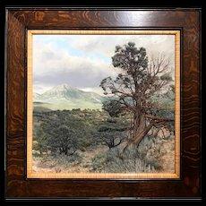 Erick Ingraham Oil Painting Landscape - Colorado High Desert