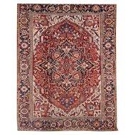 Exceptional 20th Century Heriz Room Size Oriental Rug