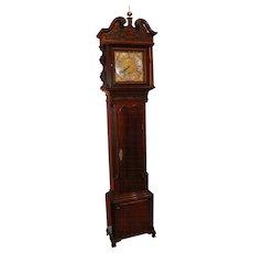 18th Century Georgian Mahogany Tall Case Clock, Signed Ralph Sherratt Tilley