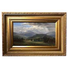 Erik Koeppel NH White Mountain Landscape - Mt. Washington Beneath the Clouds