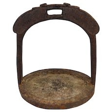 Early Han Dynasty Chinese Bronze Stirrup