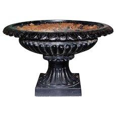 19th Century American Cast Iron Urn or Garden Planter