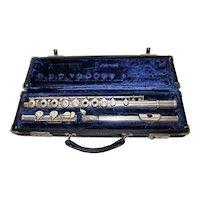 Gemeinhardt M3S Solid Silver Flute with Original Case