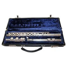 Gemeinhardt M3S Solid Silver Flute with Original Case
