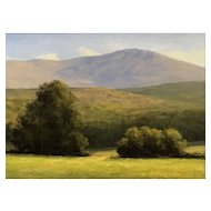 David Dodge Landscape Oil Painting, Monadnock NH