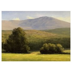 David Dodge Landscape Oil Painting, Monadnock NH