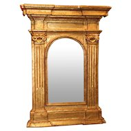 18th Century Italian Giltwood Wall Mirror