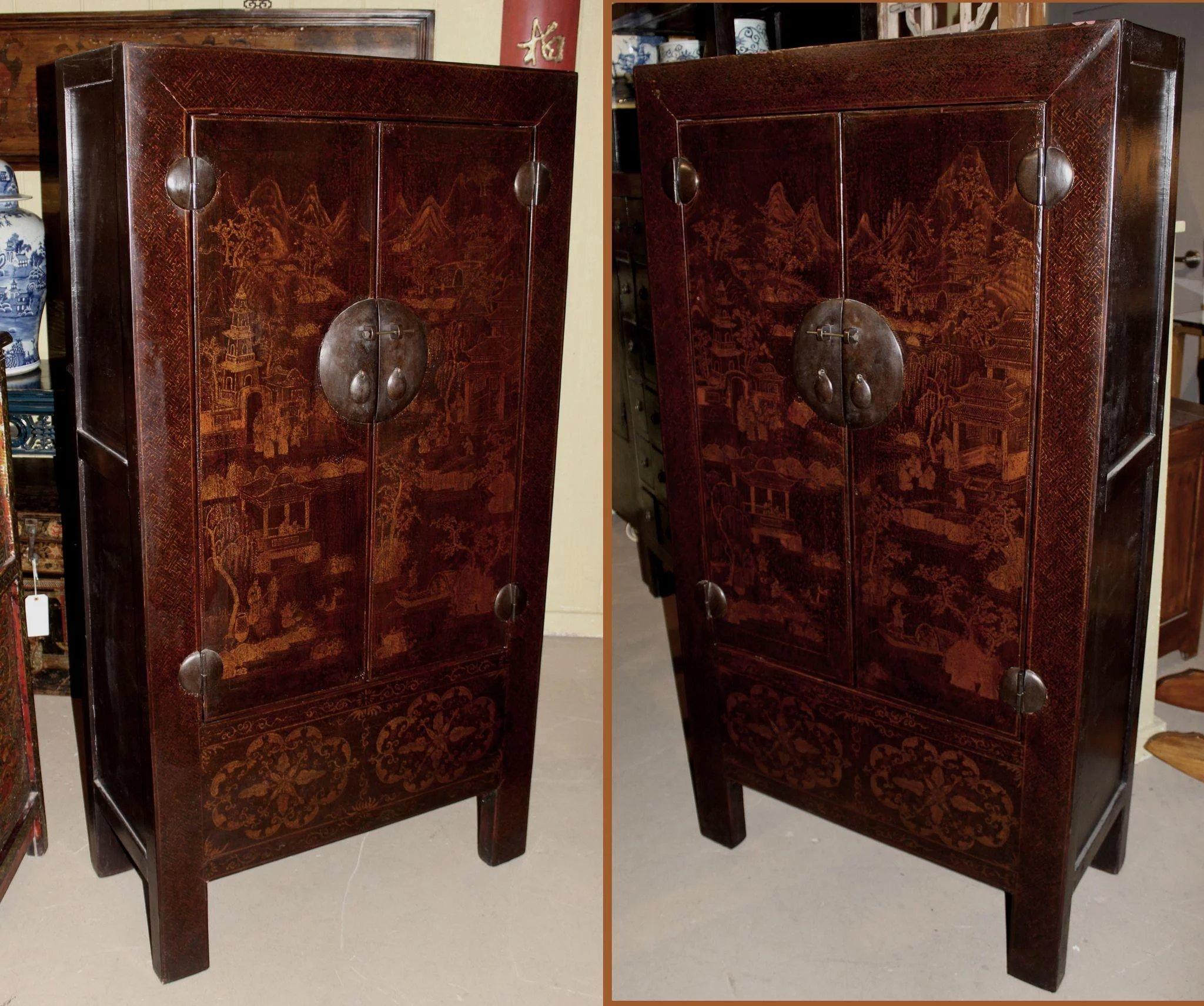 ... Chinese Elmwood Cabinets. Click To Expand