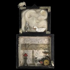 Roz Park Assemblage with Figures and Roving