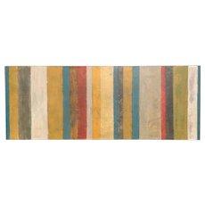 Bessann A.Triplett Abstract Mixed Media Painting - Rosa, Stripe Series