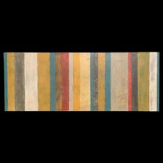 Bessann A.Triplett Abstract Mixed Media Painting - Rosa, Stripe Series