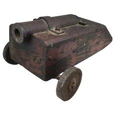 Rare 18th c Naval Signal Cannon or Deck Gun