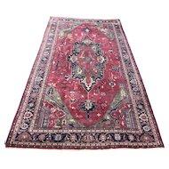 Large 20th c Room Size Heriz Persian Rug or Carpet