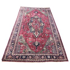 Large 20th c Room Size Heriz Persian Rug or Carpet