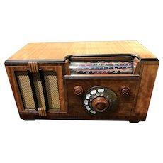 Restored Rogers-Majestic Type 7M632 Vacuum Tube Radio circa 1937-38