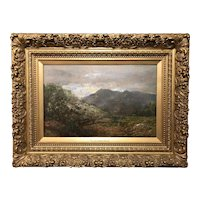 William Louis Sonntag Oil Painting, Hudson River Landscape