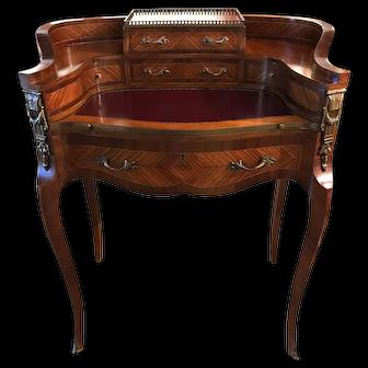 French Louis XV Style Kingwood Ladies Writing Desk