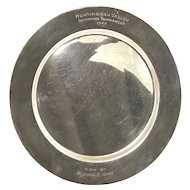Glenna Collett-Vare Sterling Silver Women's Golf Tournament Trophy Plate 1946